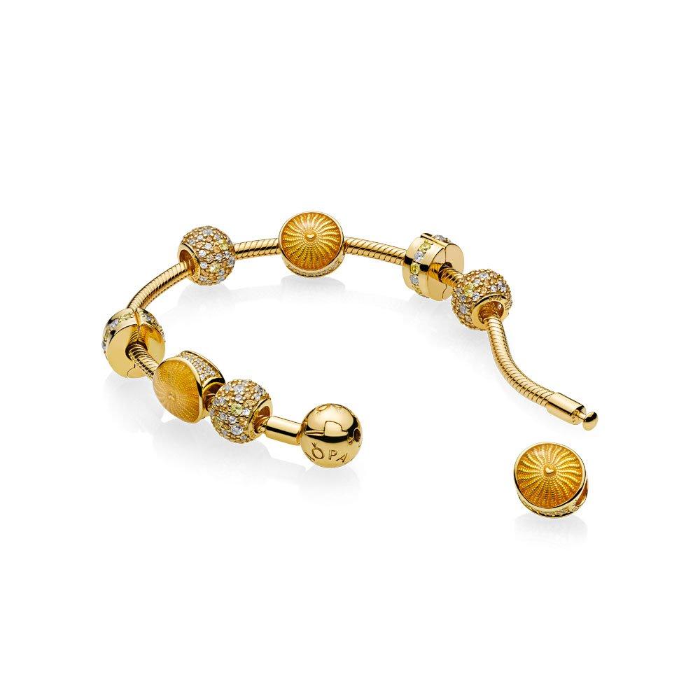 charm soleil pour bracelet pandora